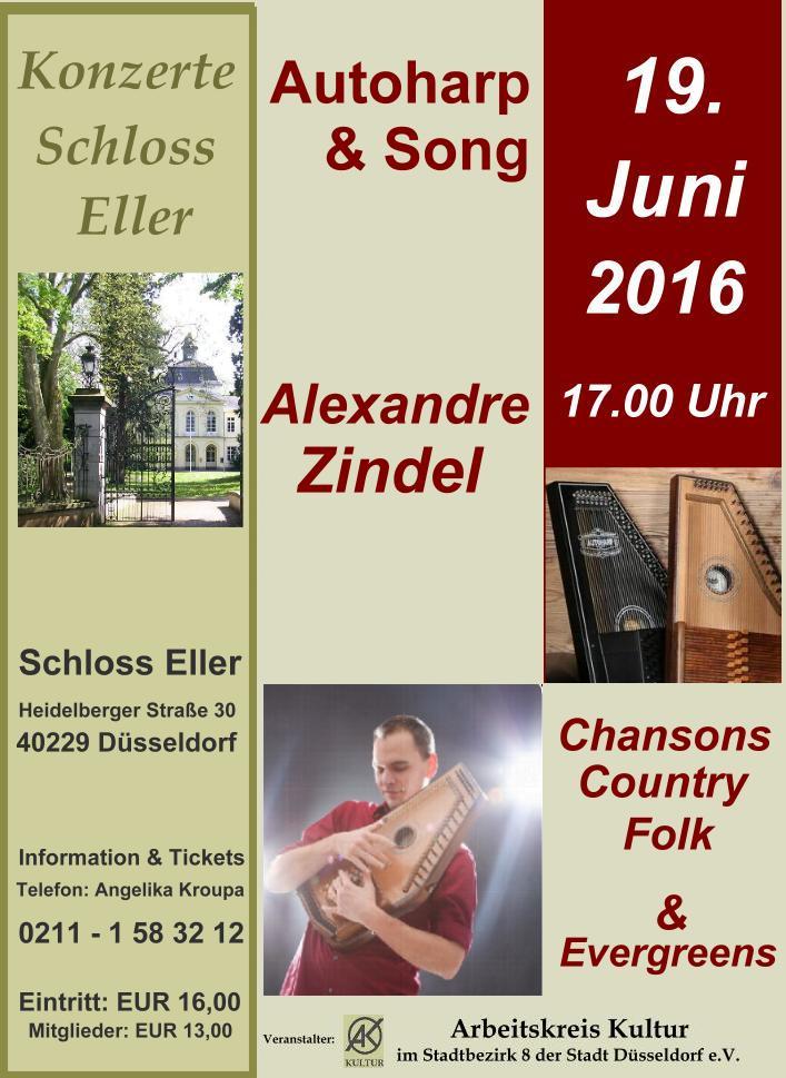 Zarte Klänge eines vergessenen Instrumentes – Alexandre Zindel – Autoharp & Song