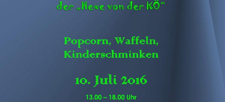Einladung zu einem Kinderfest