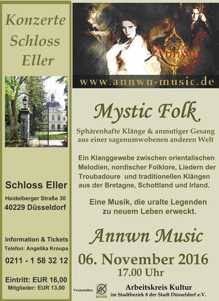 """""""Sphärenhafte Musik aus einer sagenumwobenen anderen Welt"""" – Annwn-music –  Mystic Folk"""