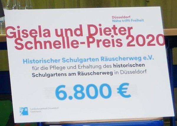 Preisverleihung 10.7.2020_Scheck